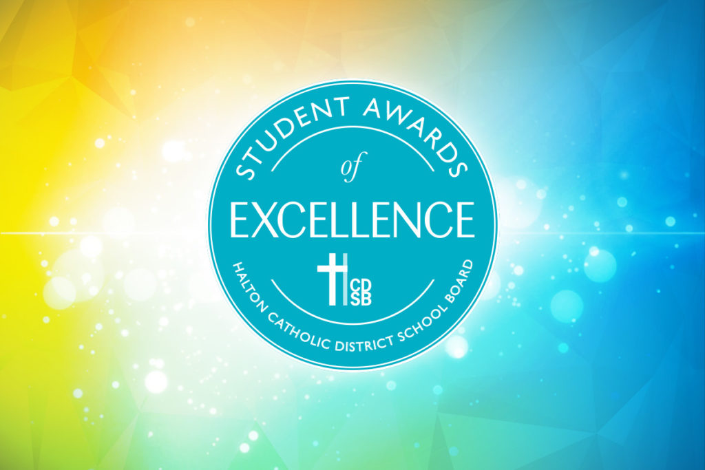 HCDSB Announces the Student Award of Excellence Recipients!