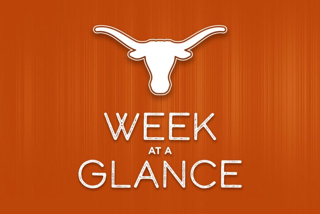 Week at a Glance – November 11-15, 2019