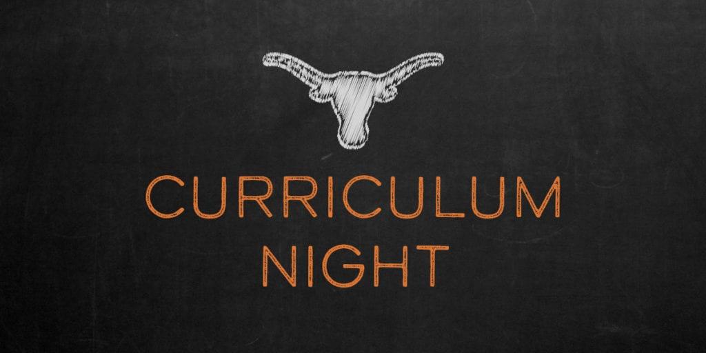Corpus Christi Curriculum Night – Thurs. Sept. 13