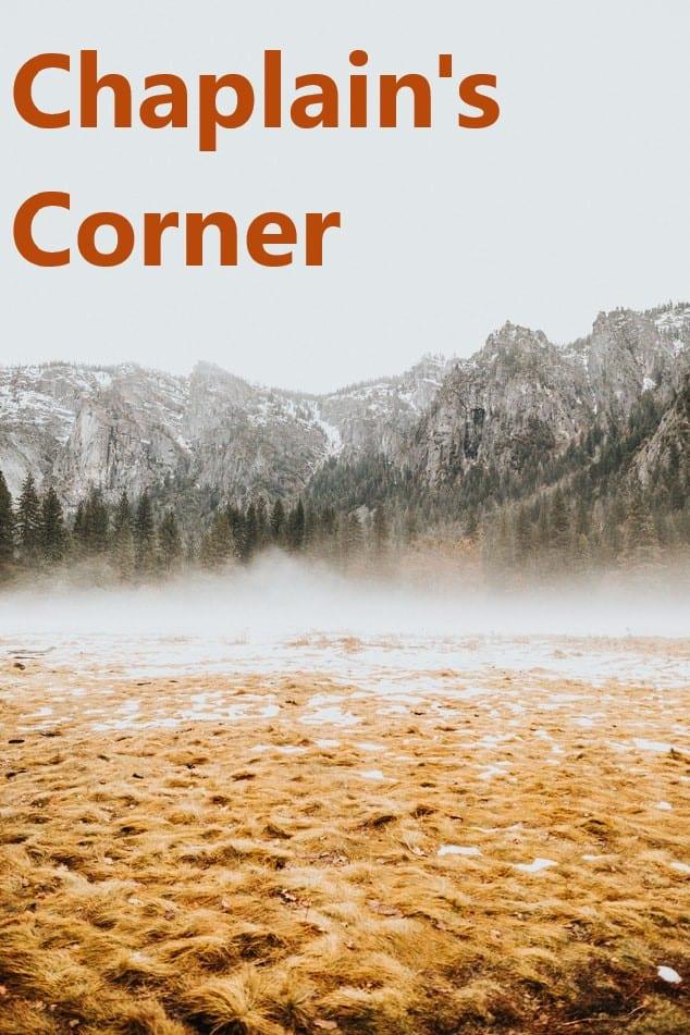 Chaplain's Corner – Welcome Father Andrija