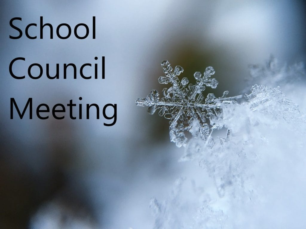 School Council Meeting Minutes