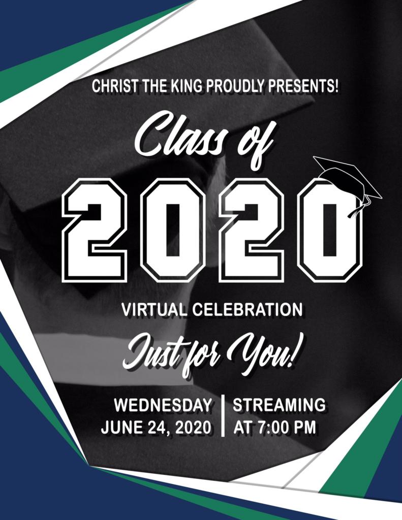 Commencement Ceremony – Wednesday June 24, 2020