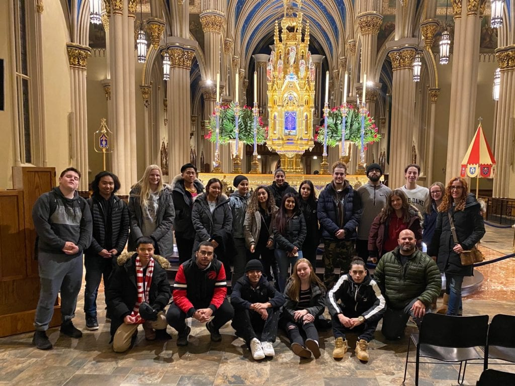 Jean Vanier Student Leaders Embark on a Life-Changing Journey to the University of Notre Dame