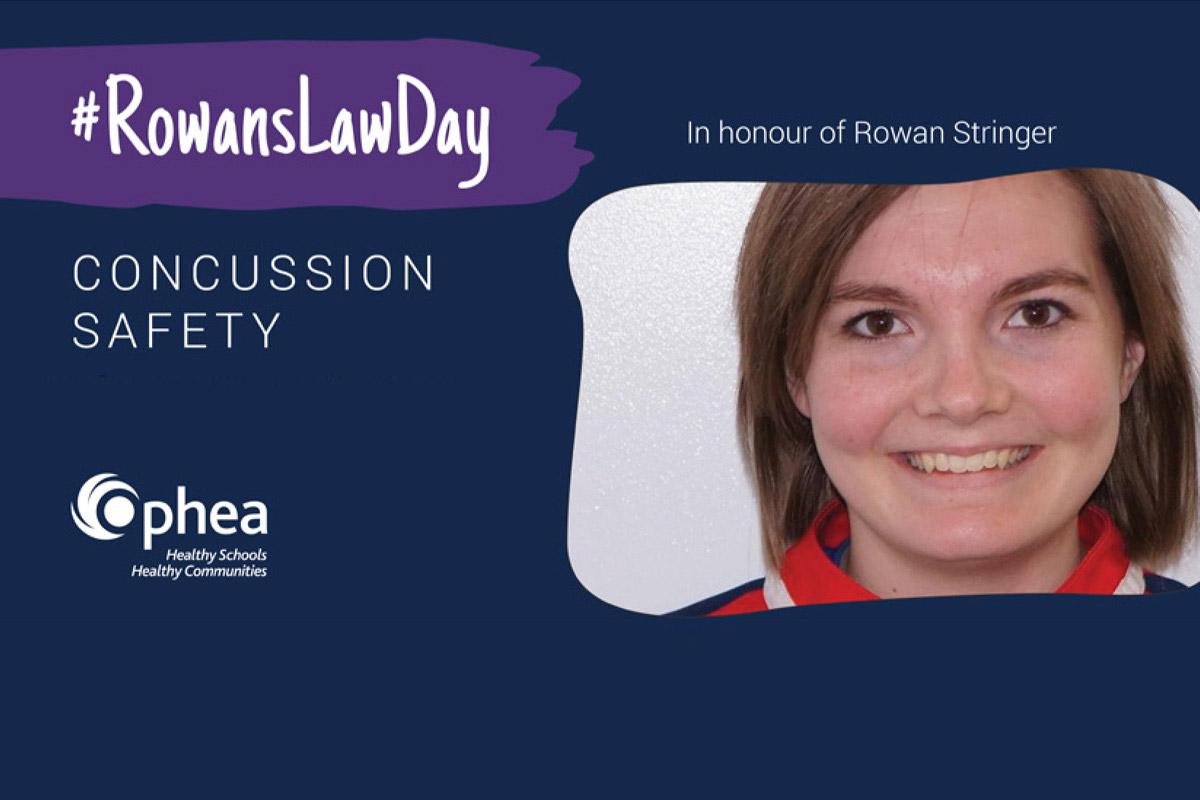 HCDSB Marks Rowan's Law Day