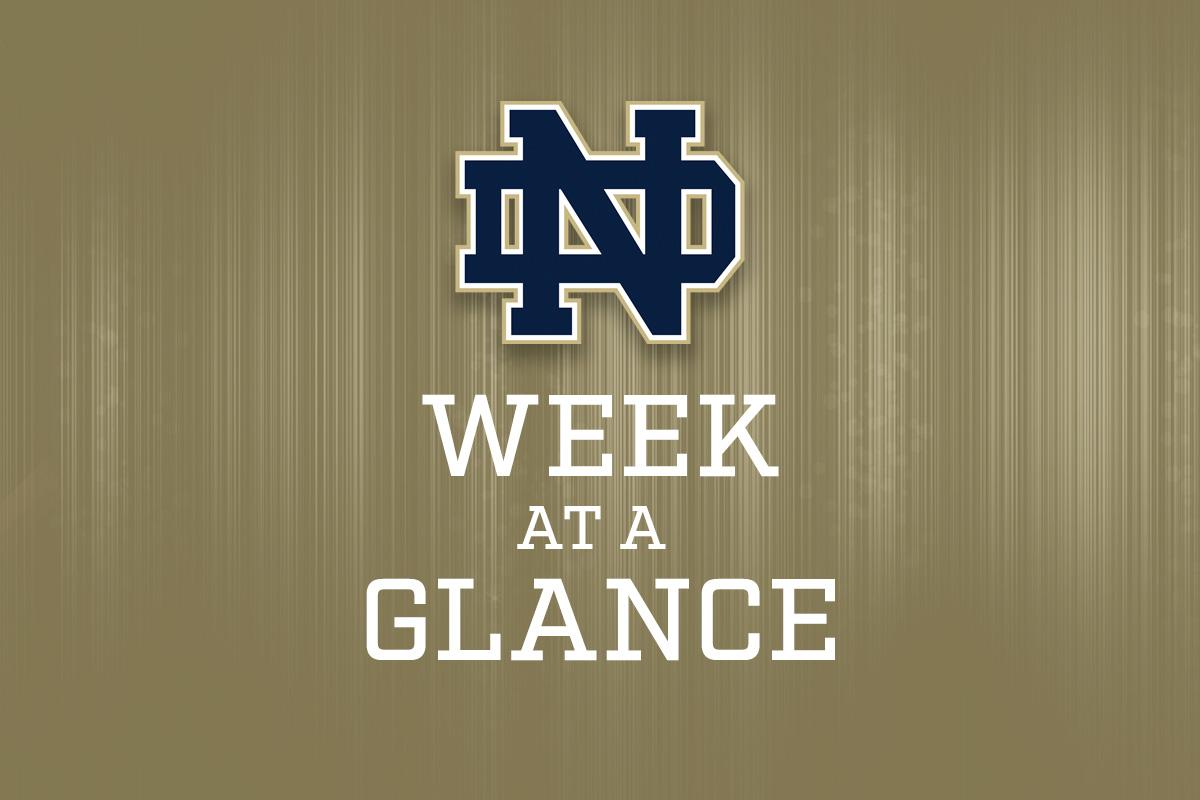 Week at a Glance Nov. 25-29, 2019