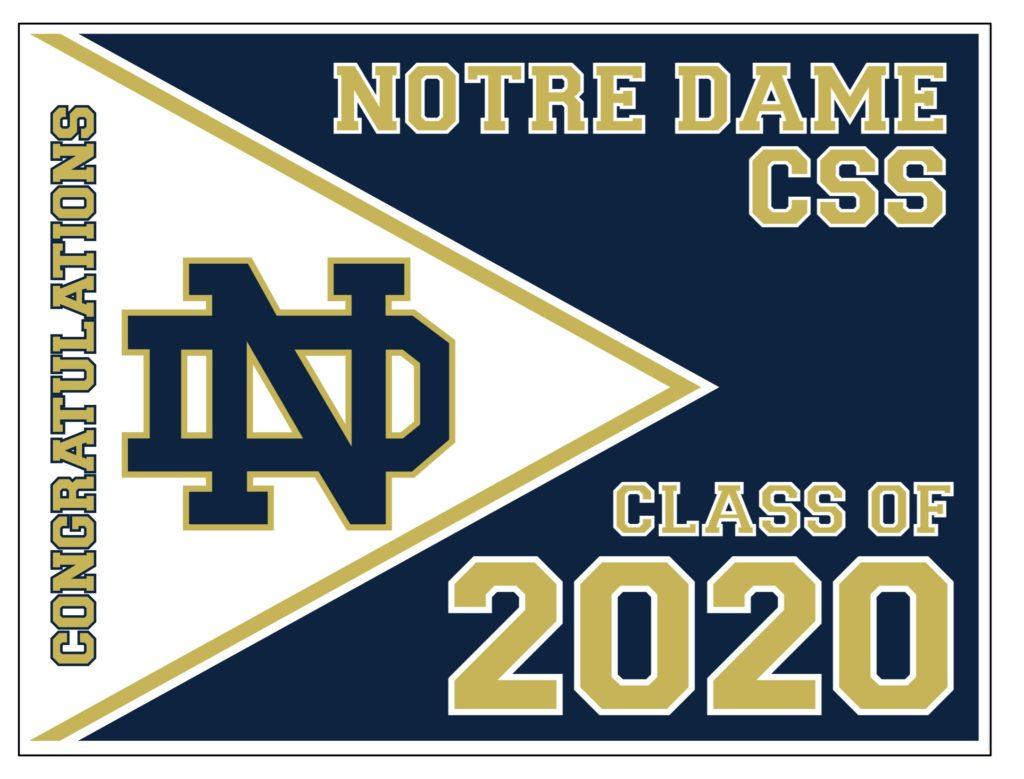 Notre Dame CSS Virtual Graduation Ceremony