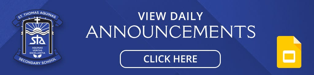 View Daily Announcements