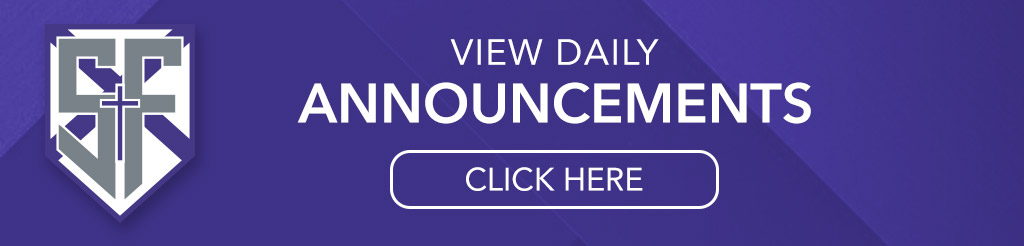 View Daily Announements - Click Here
