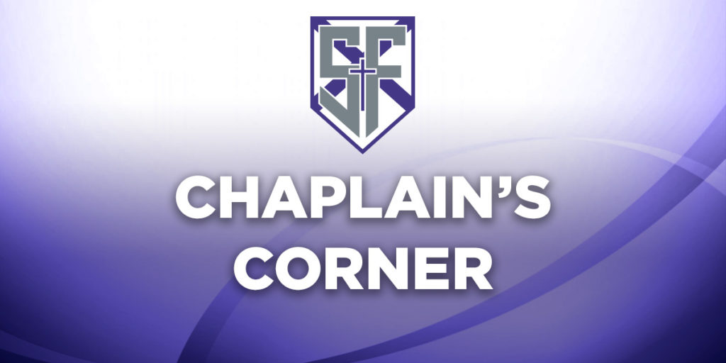 Chaplain's morning prayer